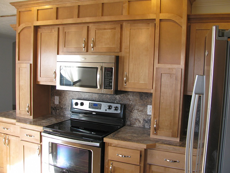 Fairmont Triple Wide Home with Maple Cabinets and ...